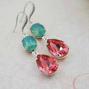 Wedding Jewelry Bridesmaid Earrings..
