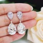 Wedding Jewelry Bridal Earrings Bri..
